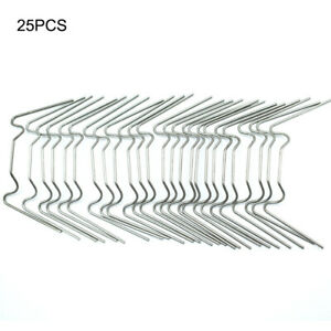 25PCS Greenhouse Glass W Clips Glazing Glass Clip Stainless Steel for Slabs AU
