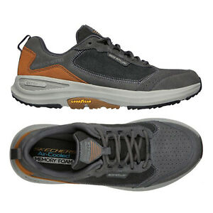 Skechers Mens Go Walk Outdoor Minsi Trainers Lace Up Sport Cushioned Shoes