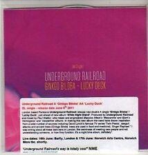 (CU340) Underground Railroad, Ginkgo Biloba - 2011 DJ CD