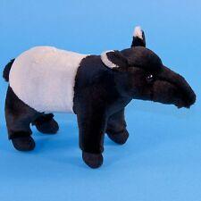 22cm Tapir Soft Toy by Dowman - Plush Cuddly Stuffed Toy