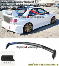 JDM Roof Screen Spoiler Wing (ABS) Fits 02-07 Subaru Impreza