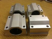 x4pcs SC20 Housing + ID20mm Samic Linear Bearing CNC