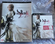 PLAYSTATION 3 FINAL FANTASY XIII-2 GAME & STRATEGY GUIDE
