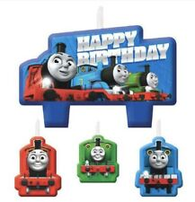 Thomas the Tank Engine Birthday Candles Party Supplies Cake Decorations 4ct.