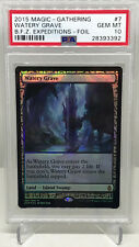 MTG Magic the Gathering WATERY GRAVE Holo Foil Zendikar Expeditions PSA 10
