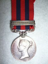 """Victorian India General Service Medal 1854 clasp, """"Persia"""" to Norfolk Regiment"""