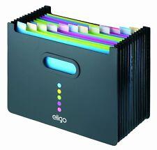 Snopake Eligo Premium A4 Erweiterung Schreibtisch Datei Ordner Organizer 13 Teil