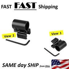 "Picatinny  20mm gun rail flashlight or laser mount - gun MOD part in BLACK 3/4"""
