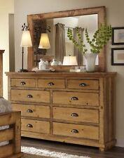 Progressive Furniture P608-23 Drawer Dresser - Distressed Pine NEW