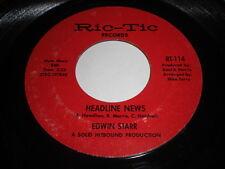 Edwin Starr: Headline News / Harlem 45 - Soul