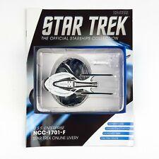 Star Trek Starship Collection USS ENTERPRISE 1701 F ONLINE LIVERY Eaglemoss