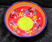 Beautiful Made in Spain Colorful Embossed Small Cereal Bowl