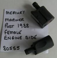 MERCURY MARINER OUTBOARD FEMALE FUEL HOSE FITTING CONNECTOR,BARBED, CODE 80555