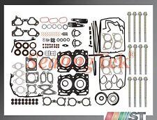Fit 02-05 Subaru Impreza WRX Turbo EJ205 USDM Cylinder Head Gasket Set w/ Bolts