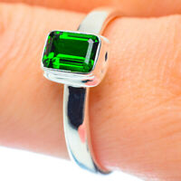 Chrome Diopside 925 Sterling Silver Ring Size 9.75 Ana Co Jewelry R35489F