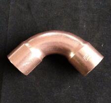 "Copper Elbow 1"" Nominal Long Radius 90° - Fits 1-1/8 in. tubing, C x C"