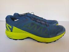 Salomon XA-Elevate Mens Blue Trail Running Shoes Size 10