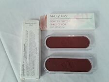 Vintage LOT OF 2  Mary Kay Powder Perfect MAPLE WALNUT Cheek Color Blush  NOS