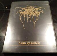 DARKTHRONE - DARK ESSENCE CD WITH POSTER DVD CASE BOOKLET. DEMO & REHEARSAL