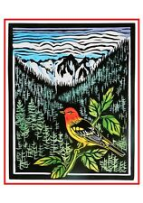 Molly Hashimoto Western Box 12 Xmas Cards