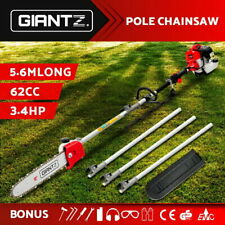 Giantz 65CC Petrol Pole Chainsaw Chain Saw Brush Cutter Brushcutter Tree