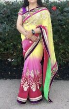 Bollywood Designer Saree With Stitched Blouse