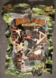BAG OF SPECIAL FORCE MINI SOLDIERS GIFT STOCKING FILLER WAR 3+ UK SELLER
