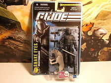GI Joe Pursuit of Cobra Snake Eyes Ninja Commando With Timber