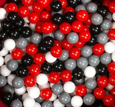 500 PLASTIC BALLS FOR BALL PIT POOL QUALITY COMMERCIAL GRADE 6CM COLOUR MIX