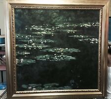 Water Lilies  by Claude Monet painting Brushstrokes Collection Museum 284/980