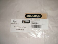 "Genuine smart fortwo brabus "" ""aile avant badge decal a4548174420 NOUVEAU!"