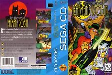 The Adventures Of Batman And Robin Sega CD Replacement Box Art Cover Insert