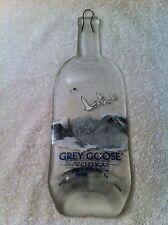 Grey Goose Flat bottle cheese tray decoration slumped 1.liter