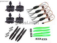 T98 4x 2204 2300KV Brushless Motor + 12A SimonK ESC EMAX + 5030 2-blade props
