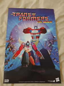 Transformers The Movie 1986 Poster 18x12 Fathom Events Promo Rare
