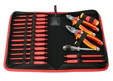 FELO 19pcs. VDE Tools Set for Electricians in Zip-Bag, AC 1000 V Made in Germany