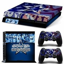 PS4 Skin & Controllers Skin Vinyl Sticker For PlayStation 4 Dallas Cowboys NFL