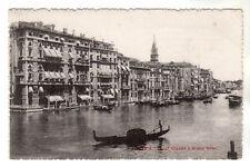 Canal Grande E Grand Hotel - Venezia Photo Postcard c1902 / Venice