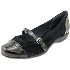 Low (3/4 in. to 1 1/2 in.) Suede Medium (B, M) Flats for Women