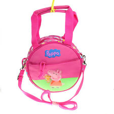 Peppa Pig - School - Insulated Lunch - Shoulder Bag Box Case - pink
