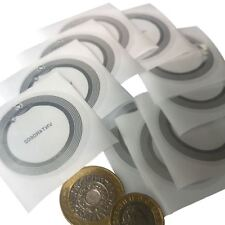 10 x NFC Sticker, Clear Label NFC Tag, NXP NTAG216 Chip iPhone 8 Android 40 dia
