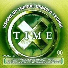 Time X 5 (2000) Dr. Motte, Kai Tracid, Da Hool, Tomcraft.. [2 CD]