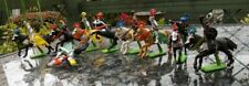 """EARLY BRITAINS DETAIL FIGURES """" HORSES AND KNIGHTS """"MOSTLY VERY GOOD,PLEASE LOOK"""