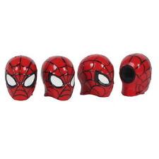 4PCS Car Wheel Tire Valve Stem Caps Marvel Spiderman
