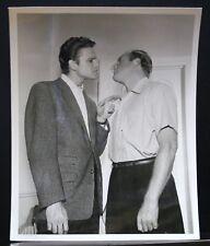 "VINTAGE 8""X10"" ORIGINAL PHOTO MGM JOHN ERICSON IN CONFRONTATION MOVIE?"
