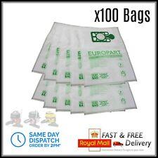 100 x Numatic Henry Hetty Hoover Bags Vacuum Cleaner Cloth Hepa Flo Bag Hepaflow