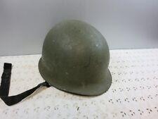 Vintage Original WWII US Army Steel Helmet with liner