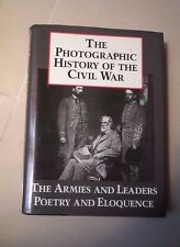 THE PHOTOGRAPHIC HISTORY OF THE CIVIL WAR 1987 GUERRA STORIA