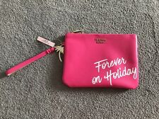 Victoria's Secret Forever On Holiday Pink Clutch Bag BNWT