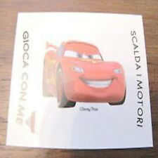 Adesivo Figurine Esselunga Disney Pixar Cars2 Cars 2